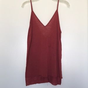 Urban Outfitters Tops - Rust colored spaghetti strap tank